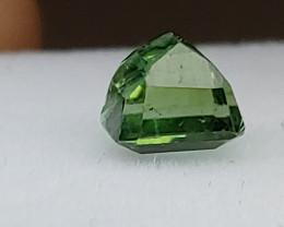 Unheated 0.79 CT Bluish Green Tourmaline  (Paprok Mine, Afghanistan)