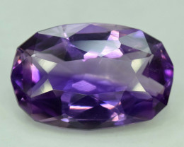20.75 carats Fancy Cut Deep Purple Color Amethyst Loose gemstone