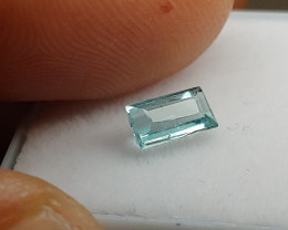 Unheated Light Neon-Blue Paprok Tourmaline (Afghanistan)