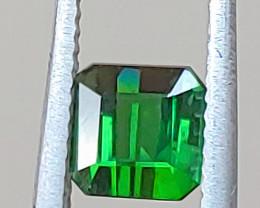 Unheated 1.66 CT Vivid Chrome Green Verdelite Tourmaline  (Paprok)