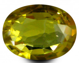 PGTL Certified Yellow Sapphire - 1.21 ct