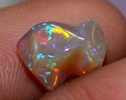 1.75 ct Natural Ethiopian Welo Fire Freeform Welo Opal Carvin 255