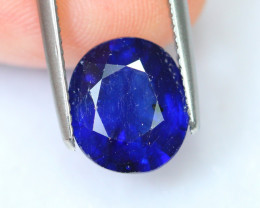 4.51cts Royal Blue Oval Cut Sapphire / 304