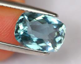 2.14cts Natural Vivid Blue Colour Aquamarine / DE168