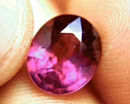 4.96 Carat Fiery Purplish Red Ruby - Lovely