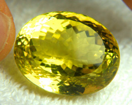 57.12 Ct. African VVS Lemon Quartz - Gorgeous