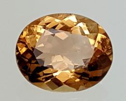 6.80Crt Natural Topaz  Best Grade Gemstones JI09