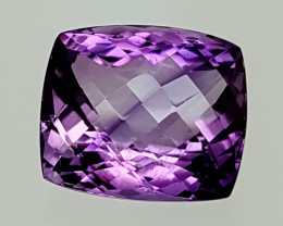 21.25Crt Natural Amethyst  Best Grade Gemstones JI09