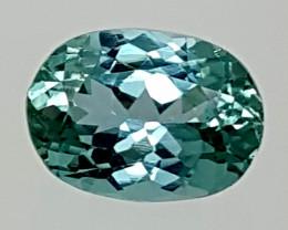5Crt Green Spodumene  Best Grade Gemstones JI09