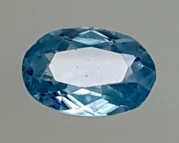 1.95Crt Blue Zircon  Best Grade Gemstones JI09