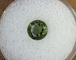 1,05ct Moldavite - Natural faceted Tektite!