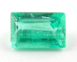 0.27 ct Natural Colombian Emerald Cut Green Gem Loose Gemstone Stone