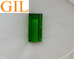 NR! Certified & Sealed Unheated 3.29 CT Forest Green Tourmaline