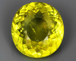 6.00 CTS EXQUISITE TOP YELLOW COLOR UNHEATED APATITE GEM!!