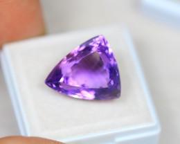 13.60Ct Purple Amethyst Fancy Triangle Cut Lot B477