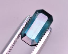 Top Color 1.10 Ct Natural Blue Tourmaline. RA