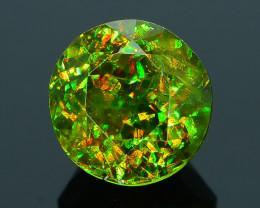 Rare AAA Fire 1.01 ct Chrome Green Sphene Sku-29