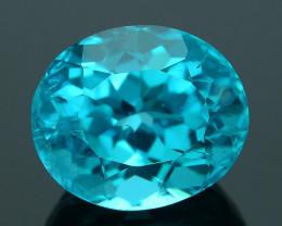 Rare 2.80 ct Neon Blue Color Apatite SKU.2
