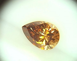 0.375ct Tri-Color  Diamond , 100% Natural Untreated