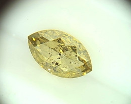 0.485ct Fancy Deep Gray Green  Diamond , 100% Natural Untreated