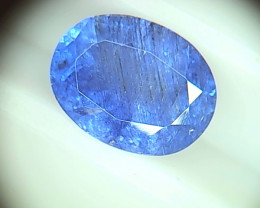4.52ct Tanzanite , 100% Natural  GEM Grade
