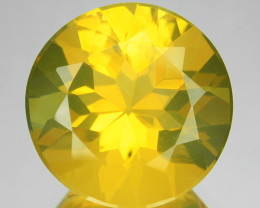 5.51 Cts Natural Mexican Orange Fire Opal Round Cut 13 mm