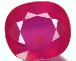 Natural Pinkish Red Ruby Oval Cut Mozambique 2.15 Cts