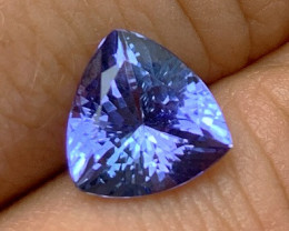 2.10 cts Tanzanite - No Reserve - Investment Gemstone