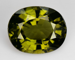 2.40 Ct Natural Green Green Diopside Good Quality Gemstone CD2