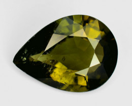 3.22 Ct Natural Green Green Diopside Good Quality Gemstone CD3