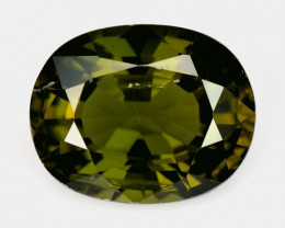 3.55 Ct Natural Green Green Diopside Good Quality Gemstone CD4