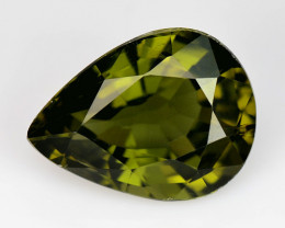 2.66 Ct Natural Green Green Diopside Good Quality Gemstone CD7
