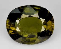 4.27 Ct Natural Green Green Diopside Good Quality Gemstone CD10