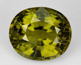 2.72 Ct Natural Green Green Diopside Good Quality Gemstone CD11
