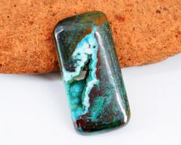 Genuine 20.00 Cts Azurite Druzy Gemstone