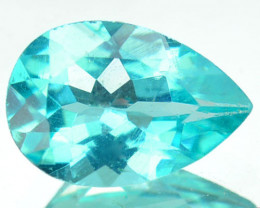 Delightful Custom Natural Blue Green Apatite Brazil 0.70 Cts