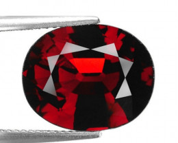 10.66 Ct Spessartite Garnet Pure Red Gem Quality Gemstone ST 04