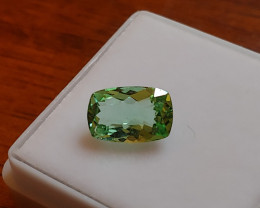 Unheated  1.69 CT Bluish Green Tourmaline (Kunar)