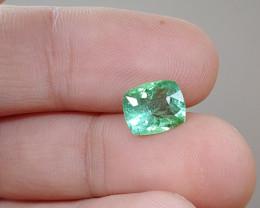 Unheated 2.36 CT Green Tourmaline (Kunar)