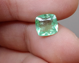 Unheated 2.05 CT Green Tourmaline (Kunar, Afghanistan)