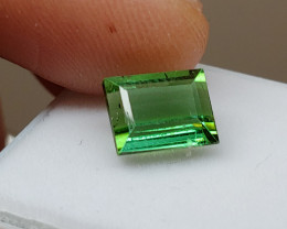 Unheated 2.75 CT Yellowish Green Tourmaline (Kunar, Afghanistan)