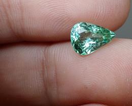Unheated VVS 1.75 CT High-End Neon Green-Blue Tourmaline (Kunar)