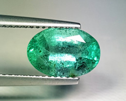 "2.37 ct "" Top Quality Gem"" Fantastic Oval Cut Top Luster Emerald"