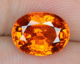 3.25 Cts Natural Spessartite Garnet Fanta Orange Red Loose Gemstone