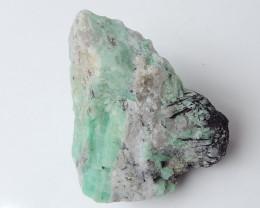 163cts Rare Emerald Gemstone ,Emerald Specimen ,Green Emerald B521