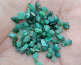 EMERALD ROUGH GEMSTONE PARCEL Natural+Untreated VA3224