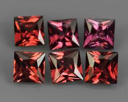 4.45 Cts_Oval Cut_Marvelous_Electric Red Pink_Africa_Sizzling_Rhodolite_~