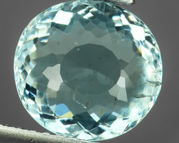 2.74 CTS STUNNING RARE NATURAL LUSTER OVAL AQUAMARINE