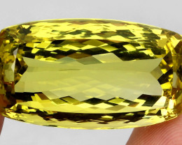 82.98ct. 100% Natural Earth Mined Top Quality Top Yellow Lemon Quartz Brazi