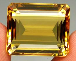 18.50ct. 100% Natural Top Yellow Golden Citrine Brazil